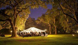אוהל לאירוע בטבע