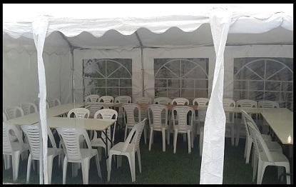 אוהל ל 40 איש אבלים