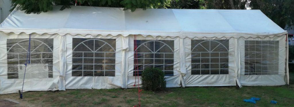 אוהל לאבלים ענק